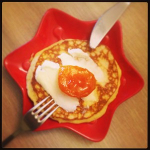 Pancake- Güneşli bir sabah