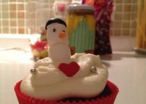Kardan Adamlı Çikolatalı Cupcake